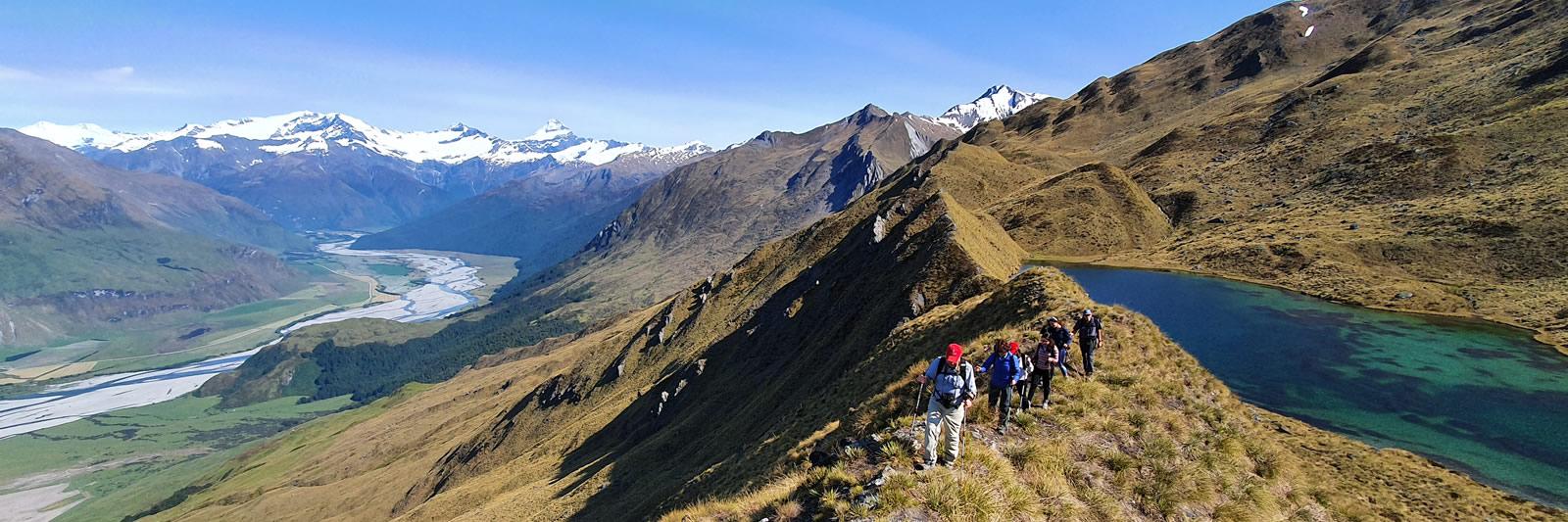 Wanaka Heli Hike | Alpine Lakes