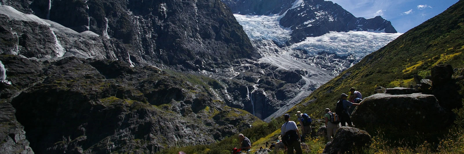 Rob Roy Glacier Guided Hike Lookout